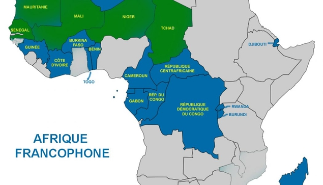 Map Of Francophone Africa.New Release In 2020 The Sacrificial Function Of A Head Of